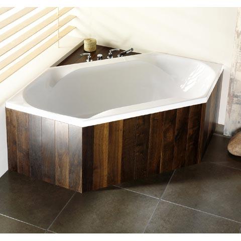Hoesch SPECTRA Sechseck-Badewanne weiß
