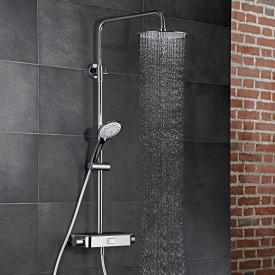 HSK AquaSwitch RS 200 Thermostat Shower-Set mit Kopfbrause super-flach schwarz