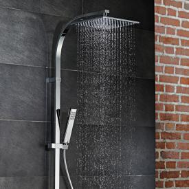 HSK AquaSwitch RS 500 Thermostat Shower-Set mit Kopfbrause schwarz