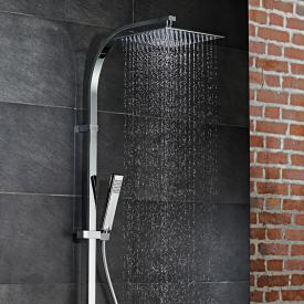 HSK AquaSwitch RS 500 Thermostat Shower-Set mit Kopfbrause super-flach schwarz