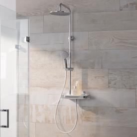 HSK AquaTray RS 200 Thermostat Shower-Set mit Kopfbrause super-flach