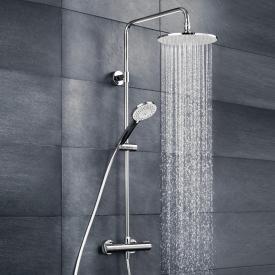 HSK RS 100 Thermostat Shower-Set mit Kopfbrause flach