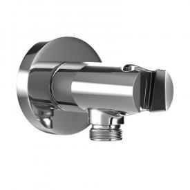 HSK Universal Wandanschlussbogen mit integriertem Handbrausehalter