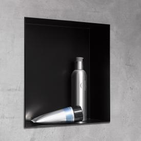 HSK Wandeinbaubox Set Breite: 300 mm, schwarz matt