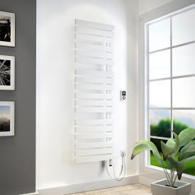 HSK Yenga Badheizkörper für rein elektrischen Betrieb weiß, 800 W, Heizstab weiß, Ausführung links
