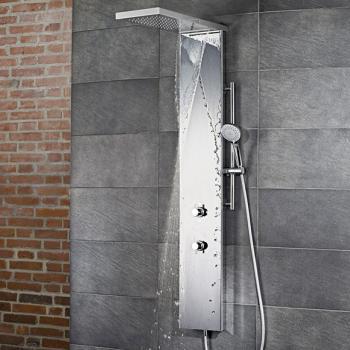 HSK Lavida Plus Duschpaneel mit Schwall weiß