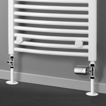 HSK Seitenanschluss Boden inkl. Design-Thermostatregler, Durchgangsvariante