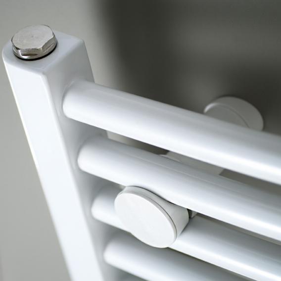 HSK Badheizkörper Line Round mit Standardanschluss weiß, 1224 Watt