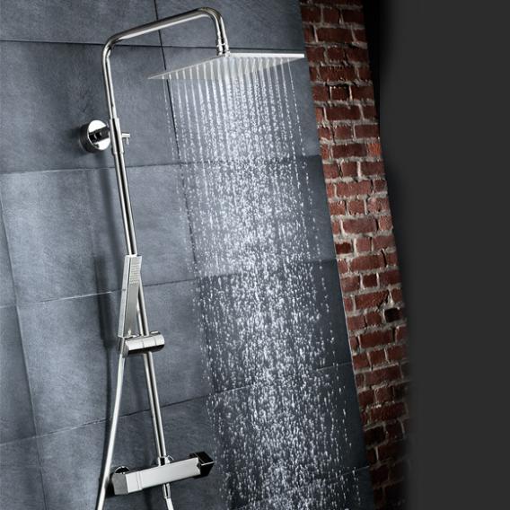 HSK RS 500 Shower-Set mit Thermostat und Kopfbrause flach
