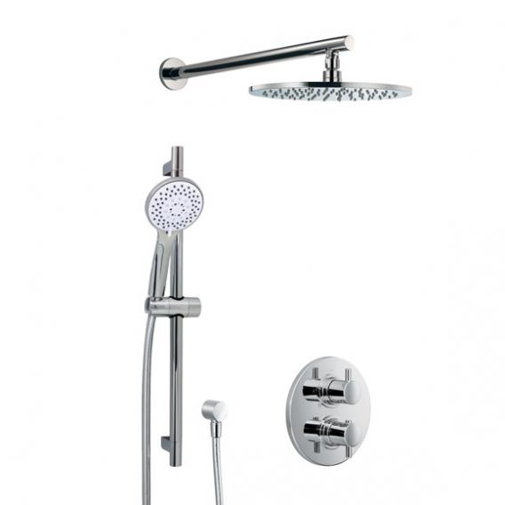HSK Shower-Set 1.05, Wandarm gerade, Kopfbrause flach