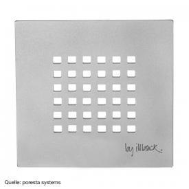 "poresta systems Edelstahlrost ""Cube"""