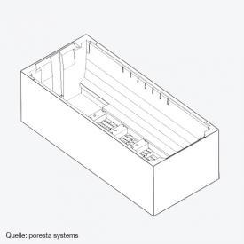 poresta systems Poresta Compact Wannenträger für Villeroy & Boch Squaro Edge 12 Rechteck-Badewanne