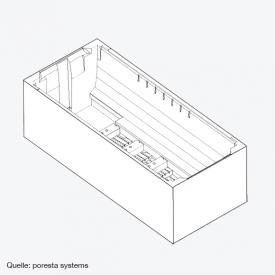 poresta systems Poresta Compact Wannenträger zu V&B Squaro Edge 12 Badewanne