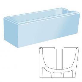 poresta systems Poresta Vario Wannenträger Bette Set L: 160 B: 75 cm