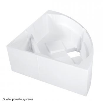 poresta systems Poresta Wannenträger für Villeroy & Boch Subway Eck-Badewanne