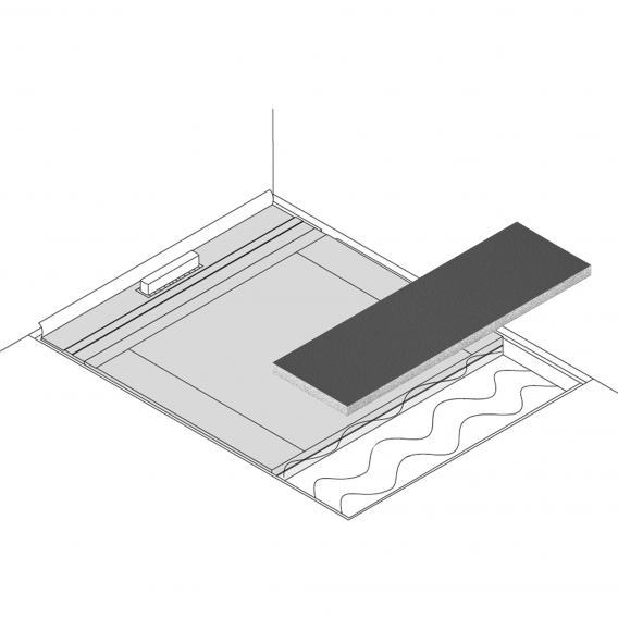 poresta systems Poresta Limit S 95 Erweiterungselement mit Gefälle