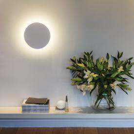 astro Eclipse Round LED Wandleuchte aus Gips