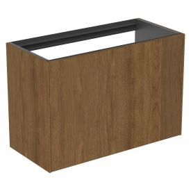 Ideal Standard Conca Waschtischunterschrank für Konsole mit 1 Auszug Front walnuss dunkel / Korpus walnuss dunkel