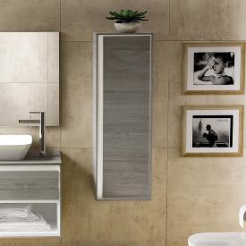 Ideal Standard Connect Air Halbhochschrank mit 1 Tür eiche grau dekor/weiß matt