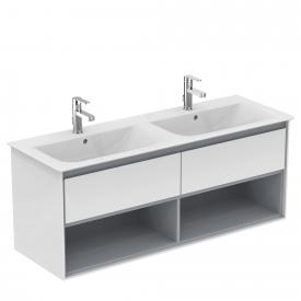 Ideal Standard Connect Air Möbeldoppelwaschtisch weiß, mit Ideal Plus