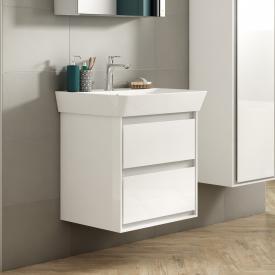 Ideal Standard Connect Air Waschtisch mit Waschtischunterschrank mit 2 Auszügen weiß