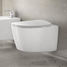 Ideal Standard Dea Wand-Tiefspül-WC ohne Spülrand weiß, mit Ideal Plus