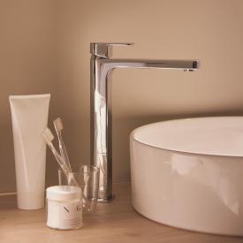 Ideal Standard Edge Einhebel-Waschtischarmatur mit verlängertem Sockel mit BlueStart ohne Ablaufgarnitur