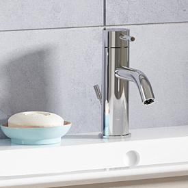 Ideal Standard Mara Einhebel-Waschtischarmatur Grande, mit Durchflussbegrenzer mit Ablaufgarnitur