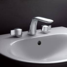 Ideal Standard Melange 3-Loch Waschtischarmatur mit Ablaufgarnitur