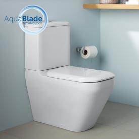 Ideal Standard Tonic II Stand-Tiefspül WC für Kombination, AquaBlade weiß