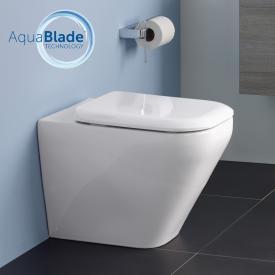 Ideal Standard Tonic II Stand-Tiefspül-WC AquaBlade weiß, mit Ideal Plus