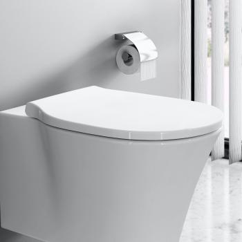 Ideal Standard Connect Air WC-Sitz, Wrapover weiß mit Absenkautomatik soft-close