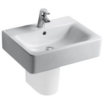 Ideal Standard Connect Cube Waschtisch kompakt weiß