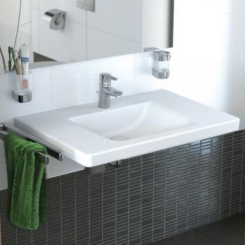 Ideal Standard Connect Freedom Waschtisch, unterfahrbar weiß Ideal Plus mit Überlauf