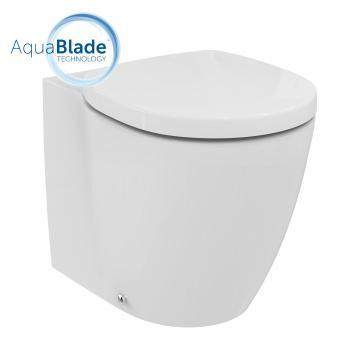Ideal Standard Connect Stand-Tiefspül-WC, AquaBlade ohne Beschichtung