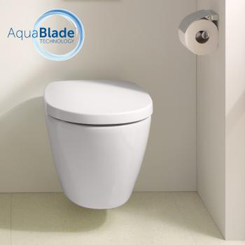 Ideal Standard Connect Wand-Tiefspül-WC, AquaBlade mit Ideal Plus