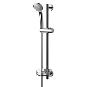 Ideal Standard Idealrain S3 Brausekombination mit 3-Funktionshandbrause, Ø 80 mm Höhe: 600 mm