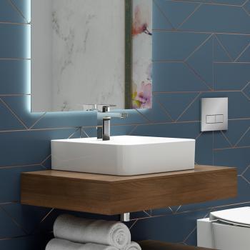 Ideal Standard Strada II Handwaschbecken weiß, mit Ideal Plus, mit 1 Hahnloch, geschliffen