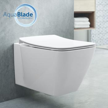 Ideal Standard Strada II Wand-Tiefspül-WC AquaBlade weiß