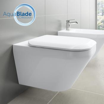 Ideal Standard Tonic II Wand-Tiefspül-WC, AquaBlade weiß mit Ideal Plus