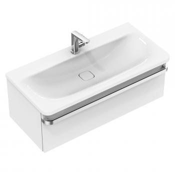 Ideal Standard Tonic II Waschtisch mit Waschtischunterschrank mit 1 Auszug weiß, mit Ideal Plus