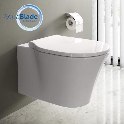 Top Ideal Standard Connect Air WC-Paket, Wand-Tiefspül-WC AquaBlade MI92