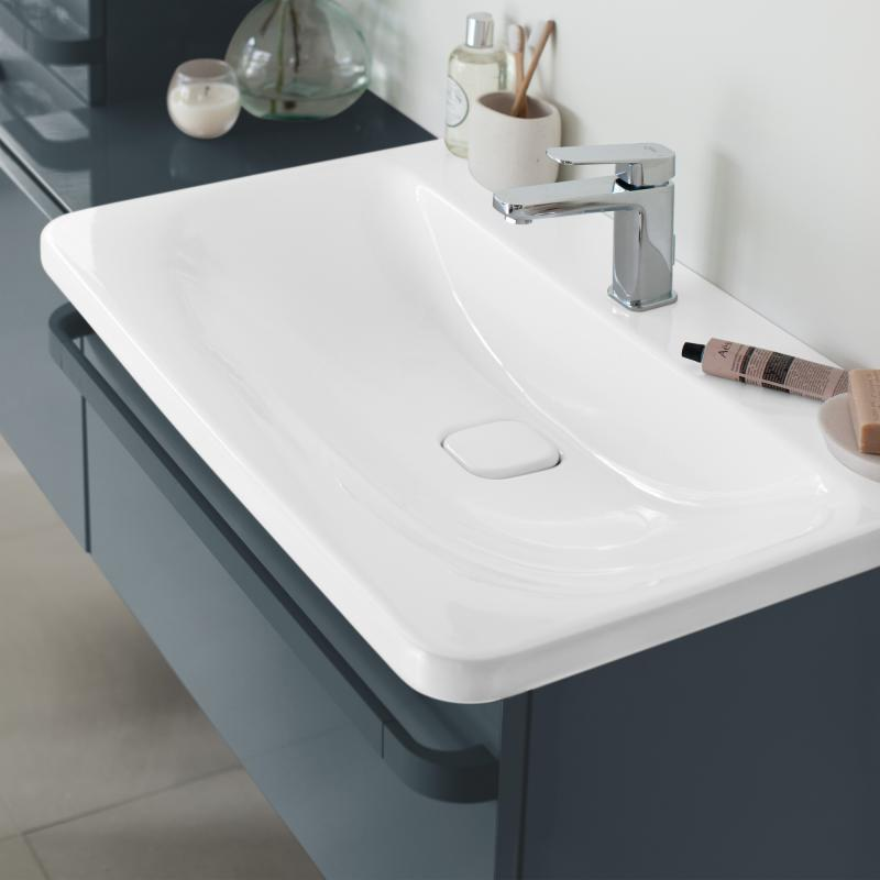 Ideal Standard Tonic II Möbel-Waschtisch mit IdealFlow weiß, mit ...