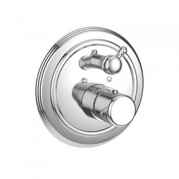 Jado Retro Bade-Thermostat Unterputz Bausatz 2 chrom