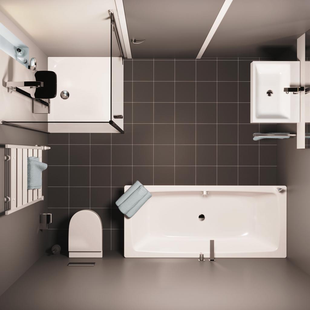 Verschönern Sie das Badezimmer Ihrer Mietwohnung! 16 Tipps - Emero