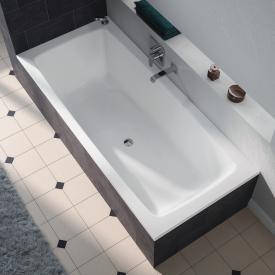 Kaldewei Cayono Duo Rechteck-Badewanne, Einbau weiß