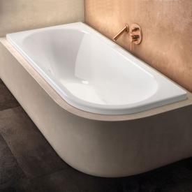 Kaldewei Centro Duo 1 Eck-Badewanne, Einbau Antislip, weiß mit Perl-Effekt