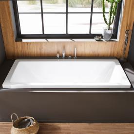 Kaldewei Conoduo Rechteck-Badewanne, Einbau weiß mit Perl-Effekt