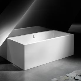 Kaldewei Meisterstück Conoduo 2 Vorwand-Badewanne mit Verkleidung mit Füllfunktion