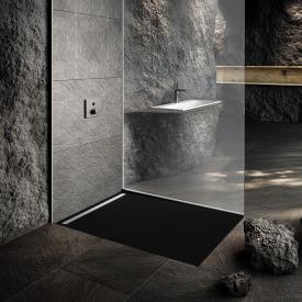 Kaldewei Nexsys Bodenebene Duschfläche Secure Plus, city anthrazit matt
